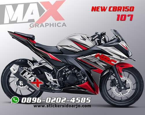sticker decal CBR 150R maxgraphica sidoarjo
