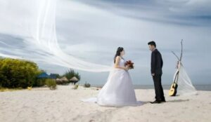 Prewedding Pantai Tema Casual
